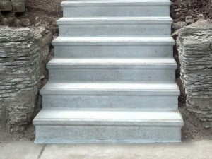 Precast Steps for Townhomes